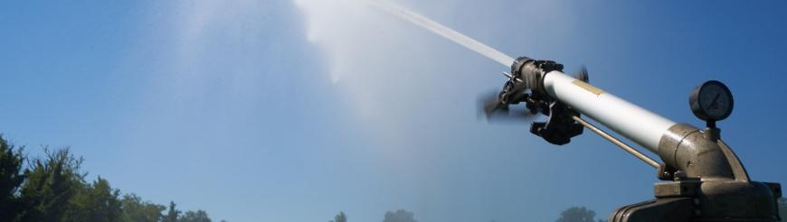 Irrigatori lunga-media gittata a impulsi