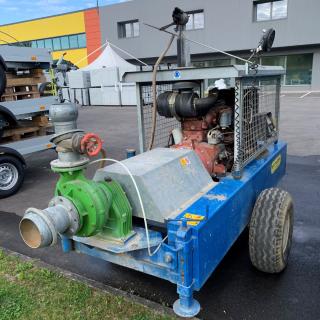 Motopompa usata con pompa Ferrari